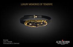 Krahn Design by Aurum1000 - Bracelet - Fine gold jewelry 999.9 - Diamond