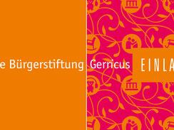 Bürgerstiftung Gerricus, 10-jähriges Jubiläum, Einladungskarte
