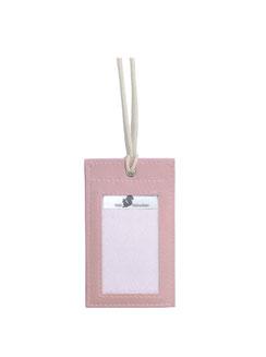 Brustbeutel rosa mit Bio-Kordel, auch für Kinder