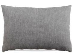 Kissen aus grauem Polyester