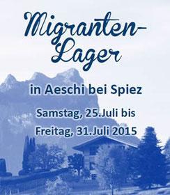 Migrantenlager Aeschi 2015