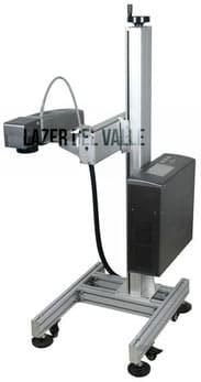 laser, fibra optica, de grabado, alta velocidad, torre, con torre, flying laser machine,