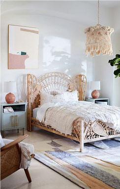 Kinsella Rattan Bed