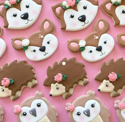 Animals Sugar Cookies