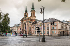 Die Heilig Kreuz Kirche in Warschau