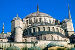 Kuppel der blauen Moschee in Istanbul