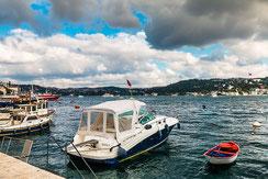 Boote in Bebek-Istanbul