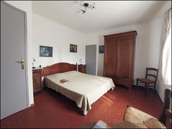 "Room for 2 people of the ""gîte de France"""
