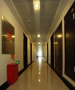 中国 大連外国語大学 学生寮 六人部屋