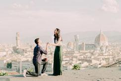 Engagement Portraits Tuscany, Italy