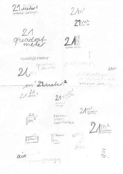 Skizze Logo 21qm Interior Design