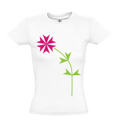 Women's Maltese Flower T-shirts