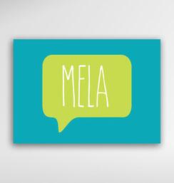 Malta Souvenirs Gifts Postcard Speak Maltese Language Mela