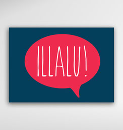 Malta Souvenirs Gifts Postcard Speak Maltese Language Illalu