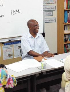 鎌倉市大船の英語教室、ユリシーズ英語・英会話のネイティブ講師クラスレッスン風景