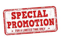 Promo, Promotion, %