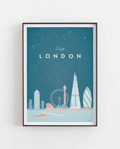 London Poster Wandbild