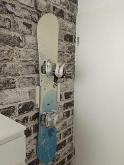 Wandhalterung Wandmontage Snowboard horizontal vertikal Halterung wall mount Fixie