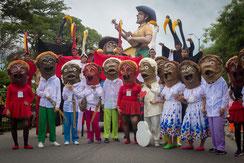 Desfile de mitos y leyendas