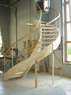 Bogentreppe in der Fertigung