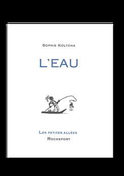 Les petites allées, Sophie Koltcha, Littérature française, typographie, Letterpress