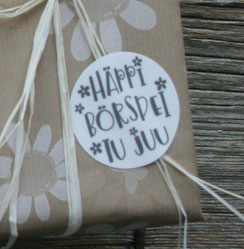 Geburtstag, Freundschaft, Geschenke....