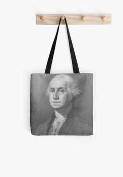 Rucksackbeutel backpack President George Washington, Way of life, USA, America, Freedom, Liberty