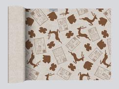 Tischläufer Leinen Baumwolle