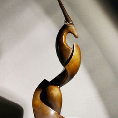 Fonderie d'Art Ilhat, sculpture, bronze, patine, Philippe Valette