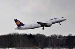Lufthansa Airbus A320-200 Gera (deutsche Fluggesellschaft)