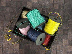 UK Stockists Jute, Wax Thread, Wired Thread and Lace trims