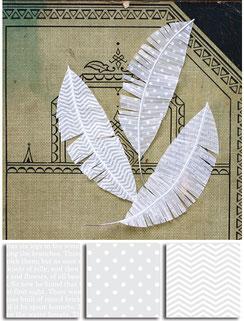 Uk Stockist Jenni Bowlin Paper and Vellum Feathers
