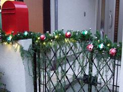 クリスマスイルミネーション 取付施工事例 横浜市 K様邸 横浜スイートクリスマスカンパニー