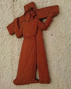 第2留 イエス、十字架を担わされる