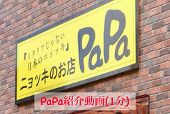 PaPa 紹介動画 movie YouTube gnicchipapa