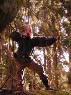 Schießtechnik Selfbows Bogenbauschule Matthias Wiltschko
