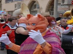 Karneval Limoux Aude Frankreich