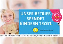 Kindern mit Sponsoring helfen - Kleine Patienten in Not e.V.