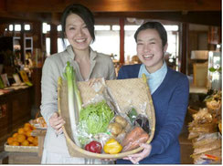 各入賞者の方には、素敵な景品が!写真は敢闘賞「伊都安蔵里の野菜セット」!