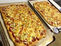 「パン工房ぽこぽこ」 阿南さんが地産の食材を使って焼き上げる出来立てピザ♪ 絶品です!