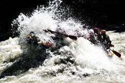 Rafting Tirol Haiming Ötztal Ache Imster Schlucht Sanna