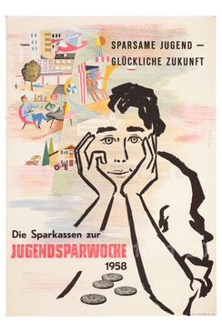 Poster Jugendträume 1950er Jahre.
