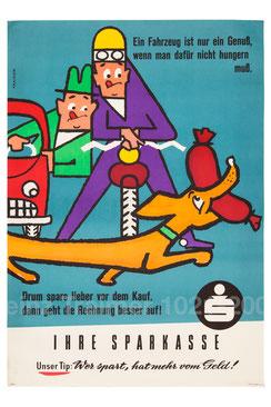 (Dackel) Logo der Sammlung Traimer. Ausschnitt aus einem Plakat von Heinz Traimer.