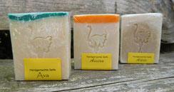 Seife, Straußenfett, Seife mit Straußenfett, handgemachte Seife