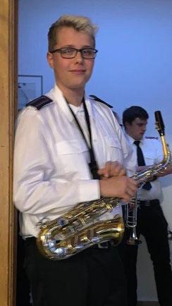 Marius am Alt-Sax