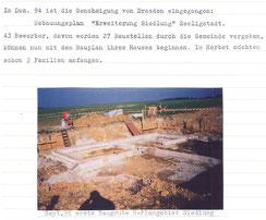 Bild: Seeligstadt Siedlung Chronik 1995