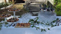 Le Buffet d'Hervé - Service traiteur en Loir-et-Cher, Région Centre-Val de Loire - Mariages, baptêmes, anniversaire, fêtes, toutes réceptions... Les vins d'honneur