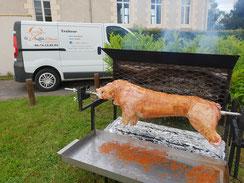 Le Buffet d'Hervé - Service traiteur en Loir-et-Cher, Région Centre-Val de Loire - Mariages, baptêmes, anniversaire, fêtes, toutes réceptions... Méchoui, cochon grillé, agneau grillé