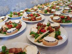 Le Buffet d'Hervé - Service traiteur en Loir-et-Cher, Région Centre-Val de Loire - Mariages, baptêmes, anniversaire, fêtes, toutes réceptions... Menu à 20€