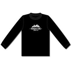 ロングTシャツ[ブラック]    ¥3,300(税込)
